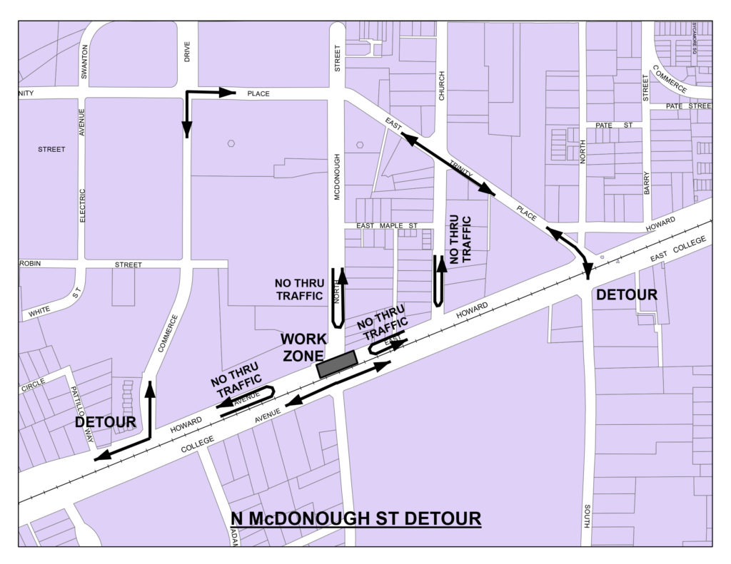 North McDonough Detour