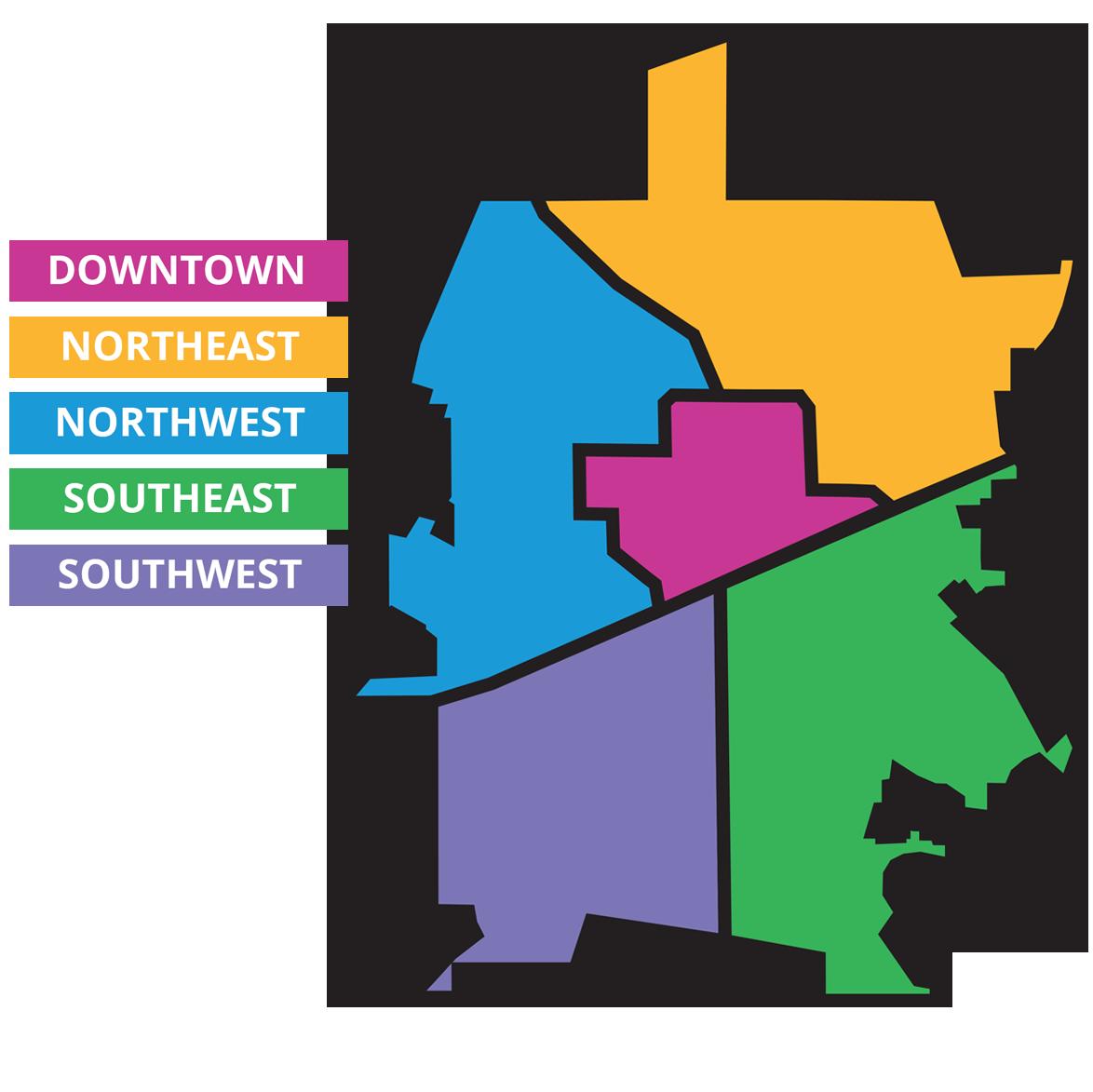 Decatur Zones